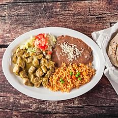 4. Chile Verde con Carne