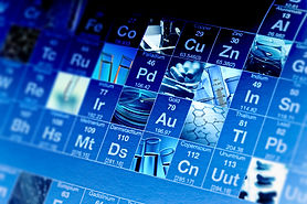 Periodic table of elements and laborator