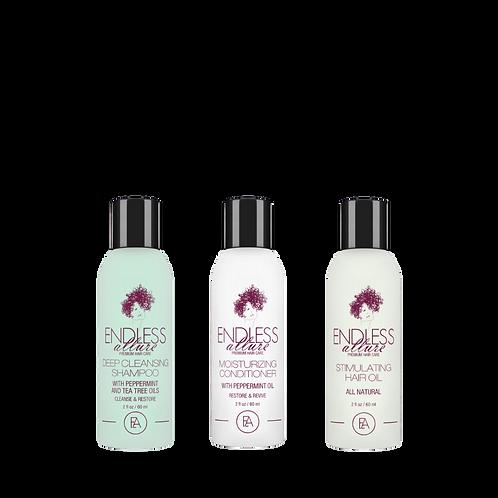 3 Step Hair Growth System Trial Kit