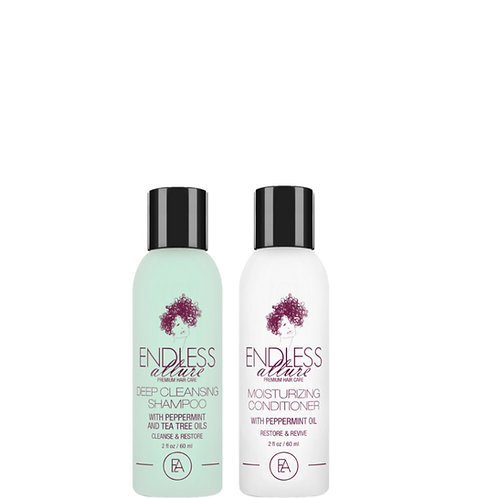Deep Cleansing Shampoo & Moisturizing Conditioner