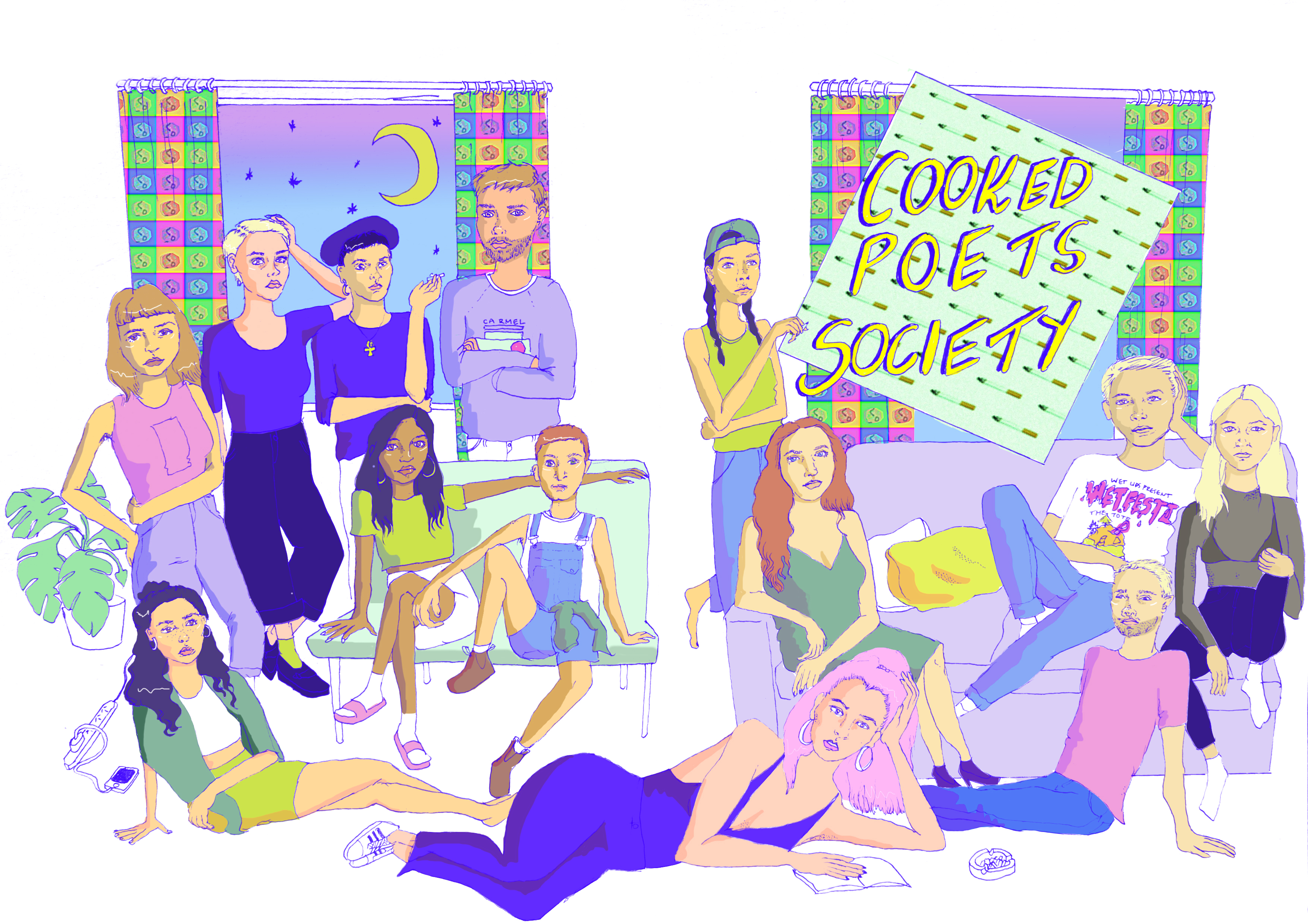 Cooked Poets Society Zine Cover