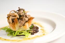 Mushroom Tart Appetizer