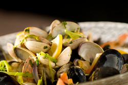 Steamed Shellfish
