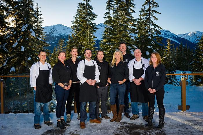 Whistler Cooks Team