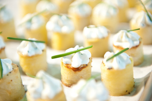 Puffed Pastry Canapes