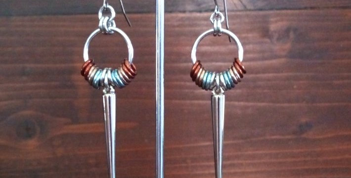'Boho Spike'  Earrings