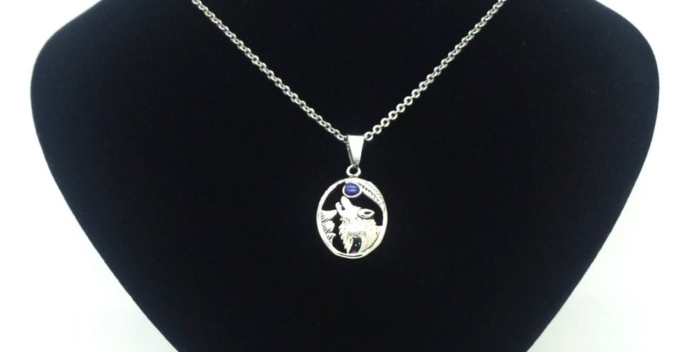 'Howl At The Moon'  Necklace