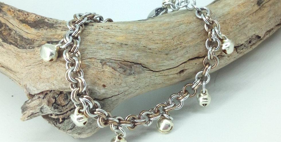 'Twinkling Bells'  Bracelet Or Anklet
