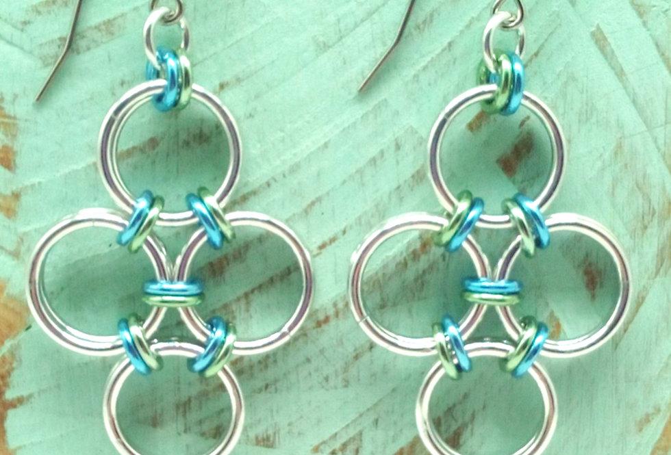 'Boho Beachy' Earrings - Ocean