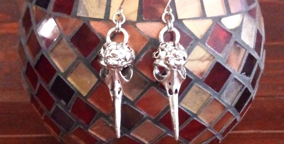 'Beauty In Death'  Earrings