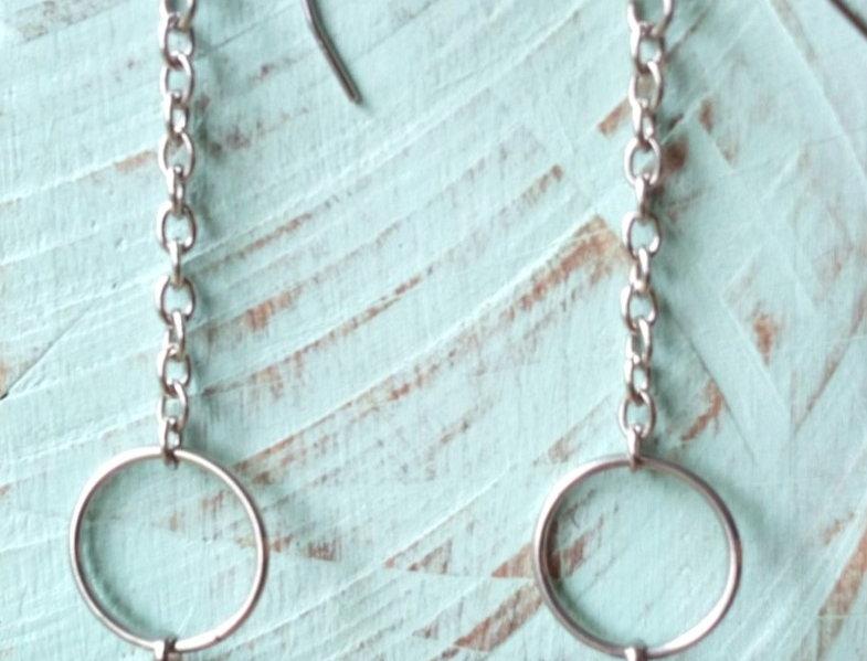 'Pendulum Dangle'  Earrings