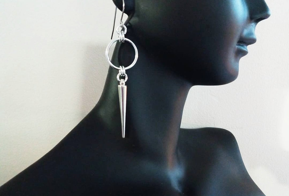'Freya Spike'  Earrings