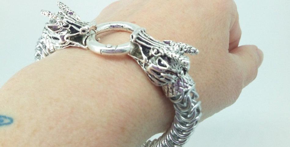 'Dragon Torc'  Bracelet