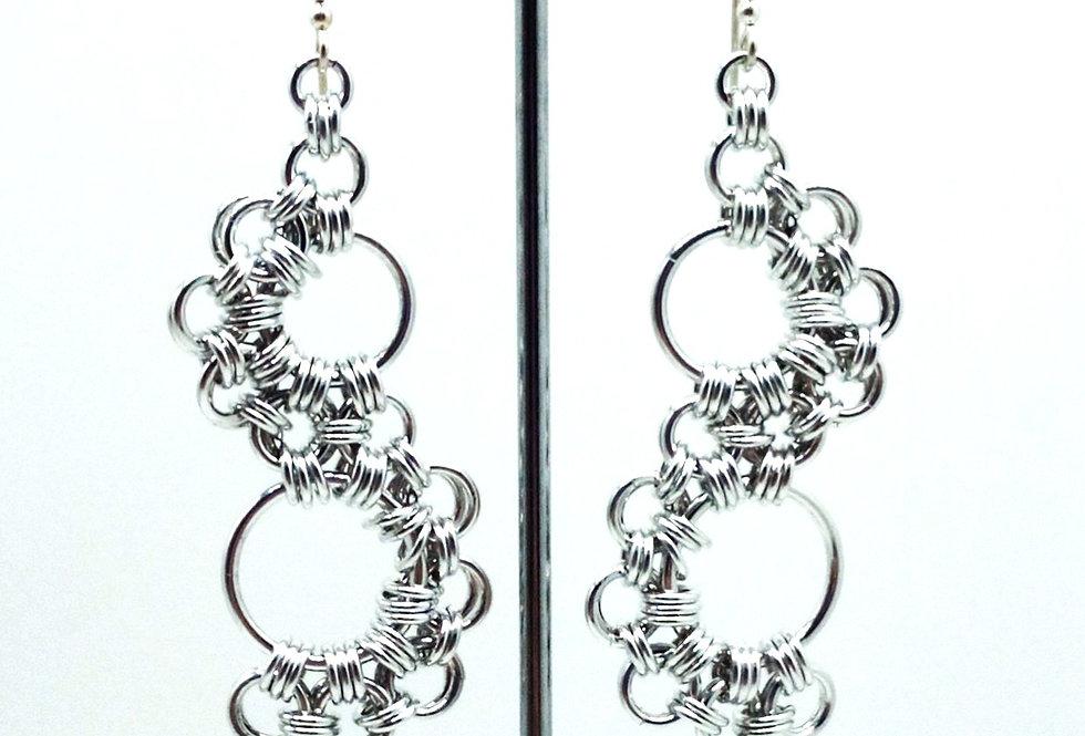 'Symetry Lace'  Earrings