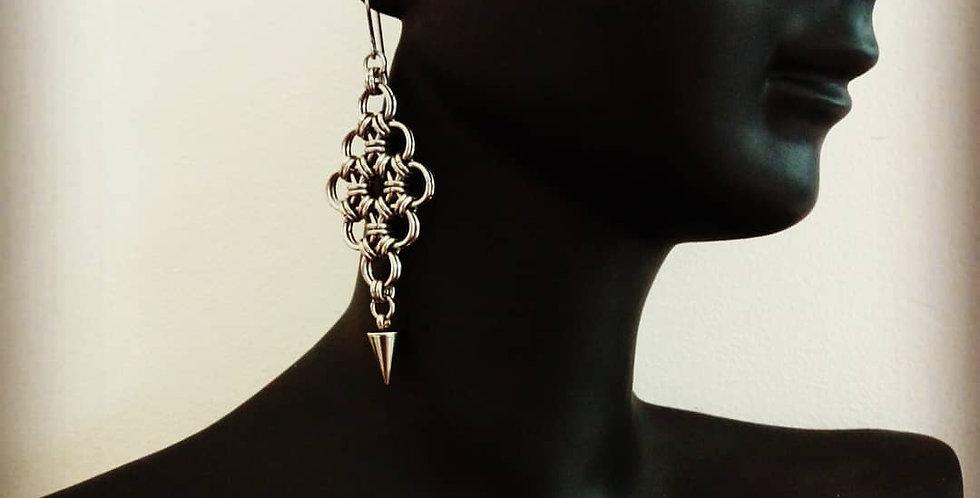 'Attitude & Lace'  Earrings