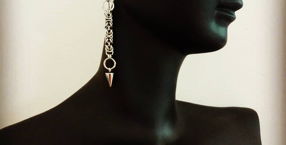 'Rogue Spiked'  Earrings