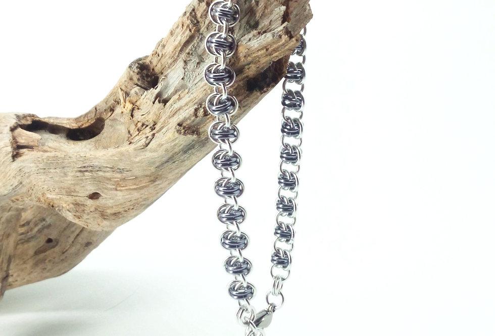 'Petite Barrel Weave'  Bracelet