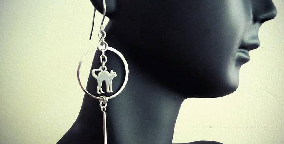 'Kitty Love'  Earrings
