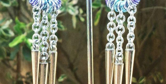 'Dream Catcher'  Earrings