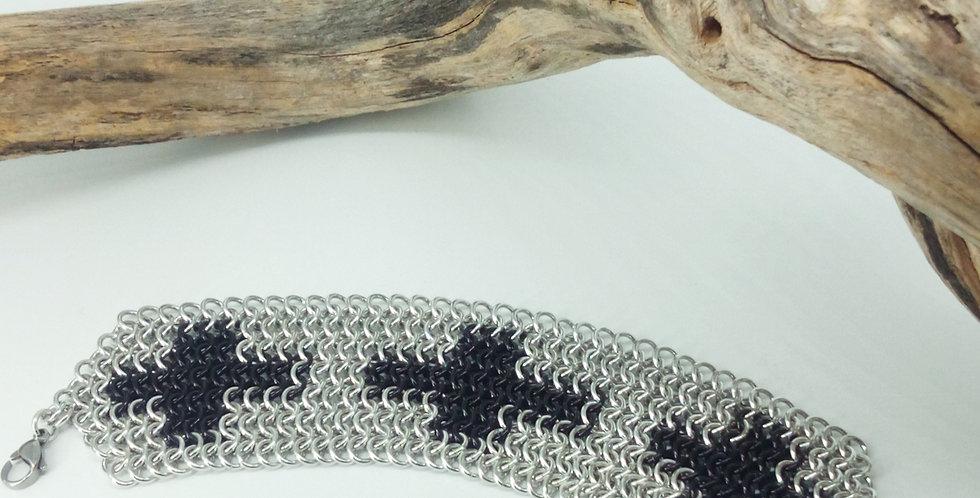 'Teutonic Knights Cross' Cuff Bracelet