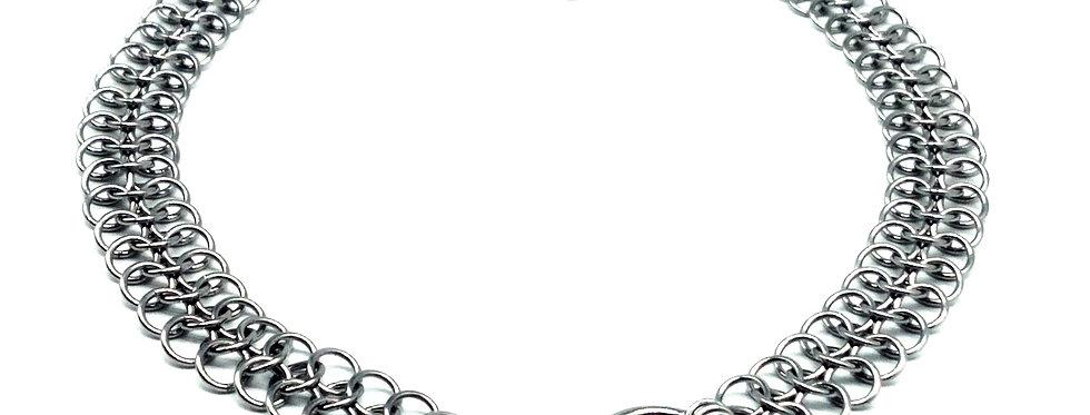 Stainless Steel 'O' Ring Choker