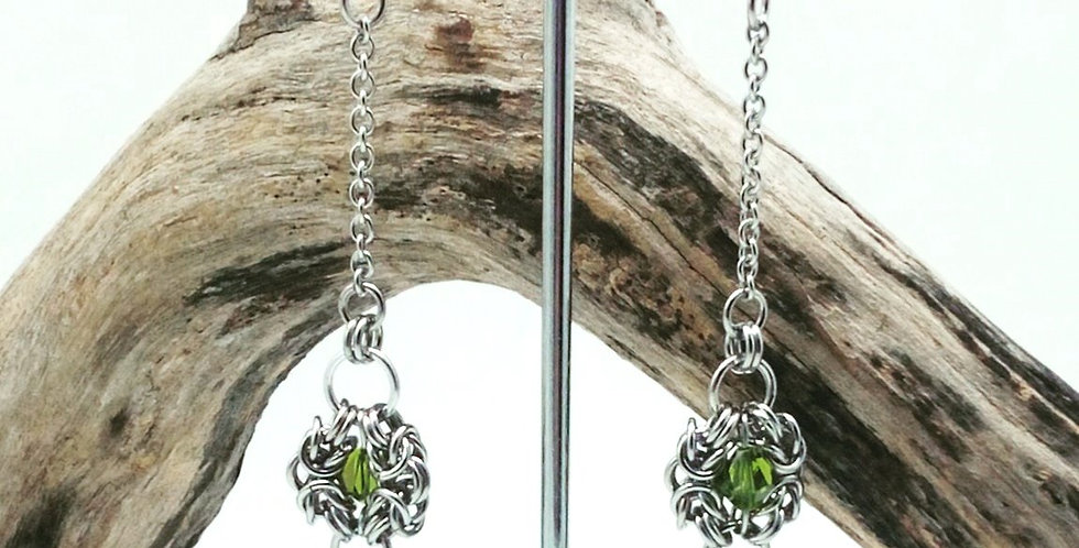 'Gothic Grandeur'  Earrings