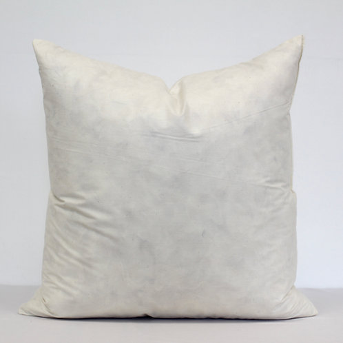 French Duck Feather Scatter Cushion Inner 20x20 Inches