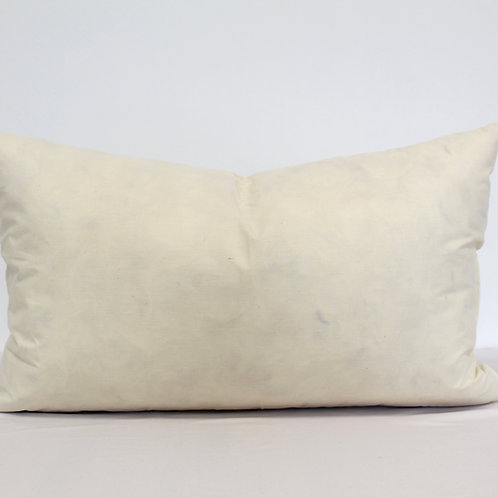 French Duck Feather Scatter Cushion Inner 12x20 Inches