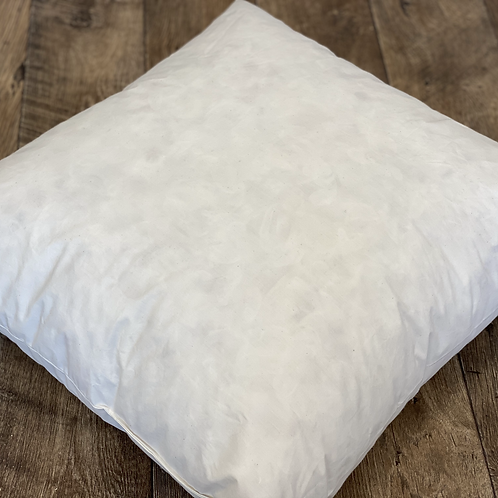 French Duck Feather Scatter Cushion Inner 24x24 Inches