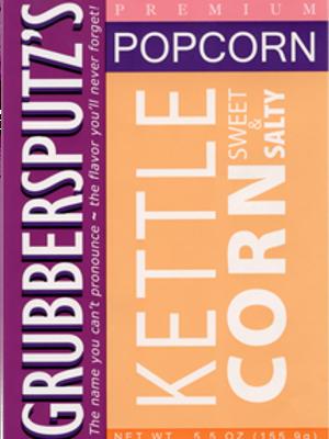 Grubbersputz's Kettle Corn Sweet & Salty Popcorn