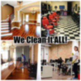 Providing all your cleaning needs