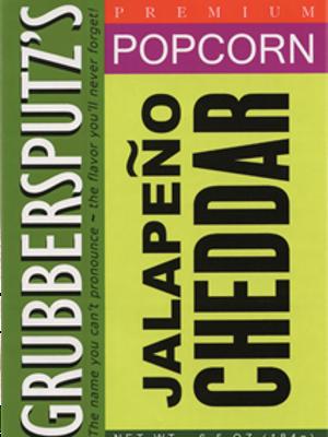 Grubbersputz's Jalapeno Cheddar Popcorn