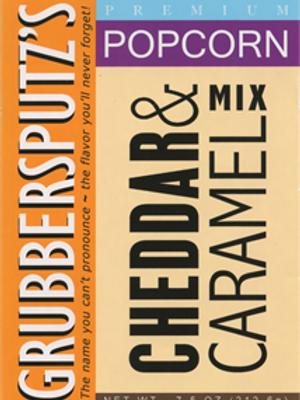 Grubbersputz's Cheddar & Caramel Mix Popcorn