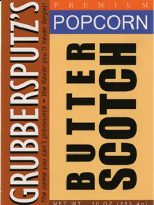 Grubbersputz's Butterscotch Popcorn