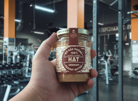 Peanut butter your new sports partner