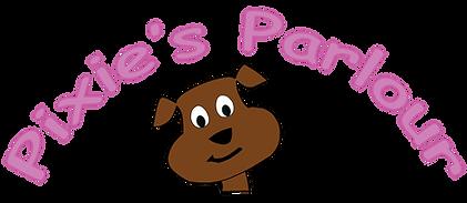 Pixies Parlor Dog Groomin Logo