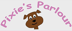 Pixie's Parlor Dog gooming logo