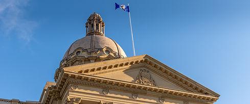 The Alberta Legislative Building