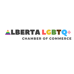 Alberta LGBTQ2+ Chamber of Commerce Logo and link