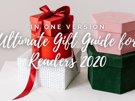 Ultimate Gift Guide for Readers 2020