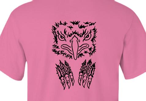 New February T shirt Hawk & Claws