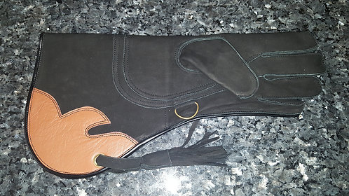Triple layer glove (#32) for left hand
