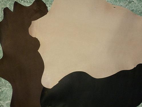 Kangaroo leather hides 3 colors