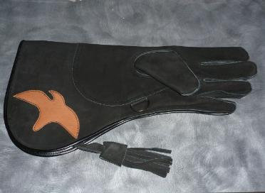 Black full cuff gauntlett (#06)