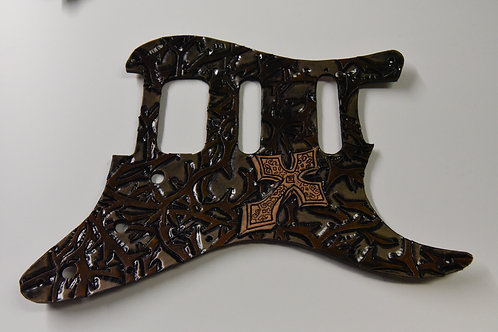 Crown of Thorns Stratocaster Pickguard