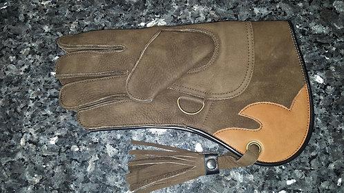 Short Cuff Glove Brown (#12) RIGHT hand