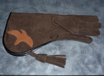 Brown full cuff gauntlet (#05)