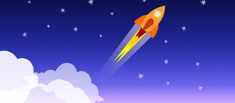 T-minus 3..2..1..Liftoff!