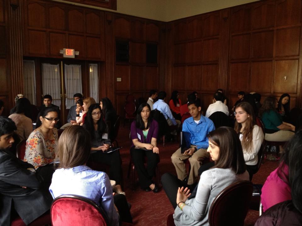Dialogue after Razia Kosi's workshop