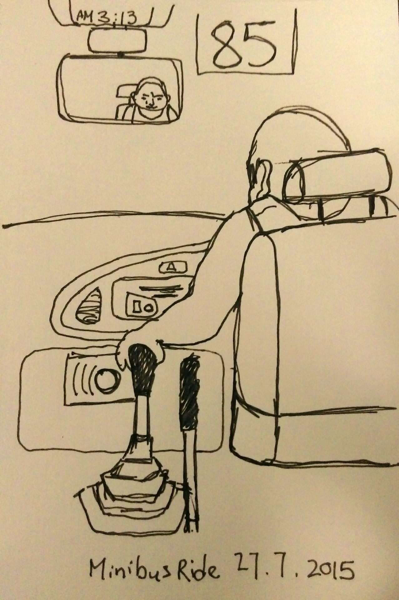 Minibus Driver, HK